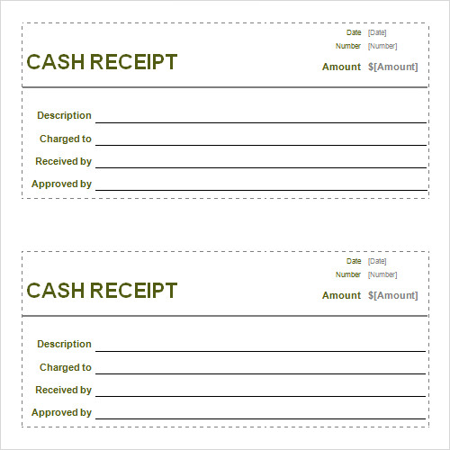 Receipt Template - 15+ Download Free Documents In PDF , Word , Excel | Sample Templates