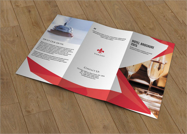 brochure for hotel