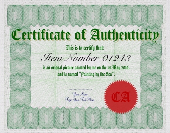 Certificate of authenticity template word images certificate certificate of authenticity template word images certificate certificate of authenticity template word image collections certificate of yadclub Image collections