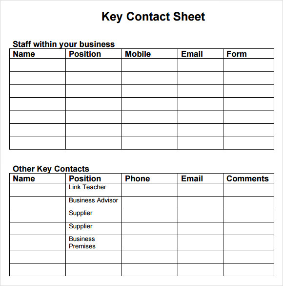 Sample Business Continuity Plan Template Free Documents In PDF - Business continuity plan template