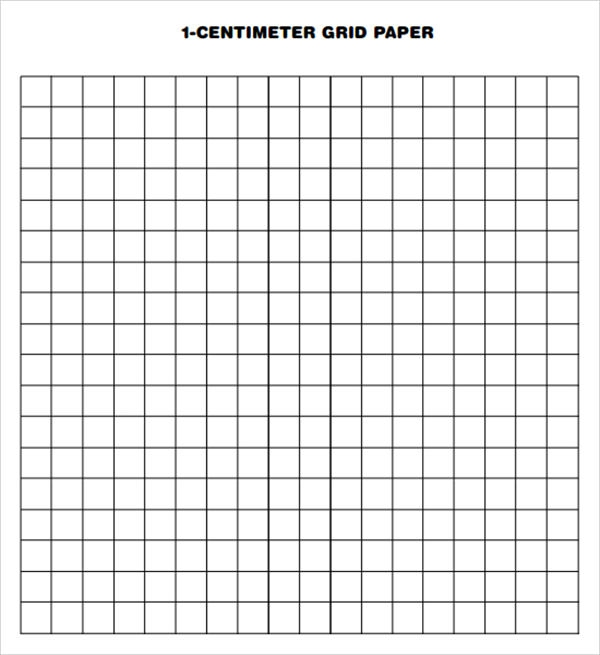Sample Printable Grid Paper 7 Documents in PDF PSD – Grid Paper Template