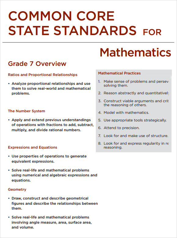 Sample Common Core Lesson Plan Templates to Download