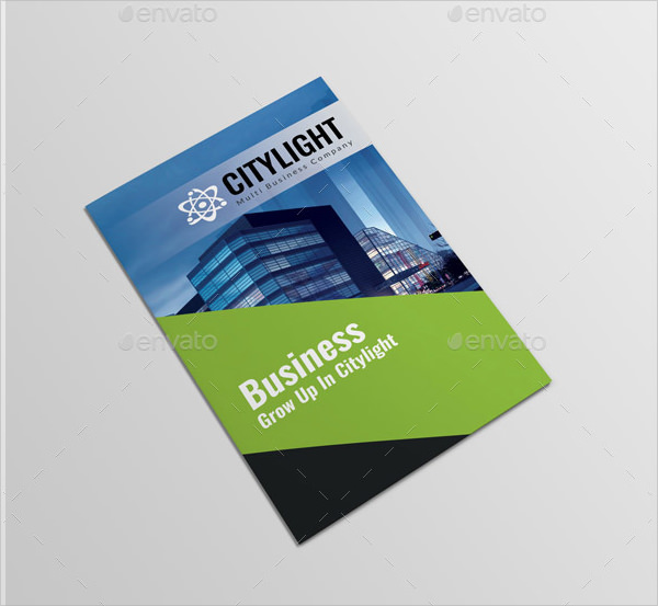 corporate brochure template psd