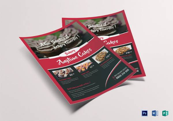21 bake sale flyers templates publisher psd ms word