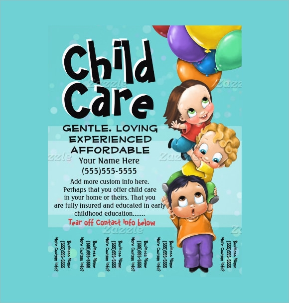 Home Daycare Flyer Samples  CityEsporaCo