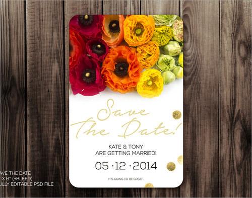 Diy Wedding Invitations Template