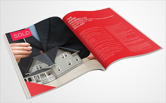 download real estate newsletter template