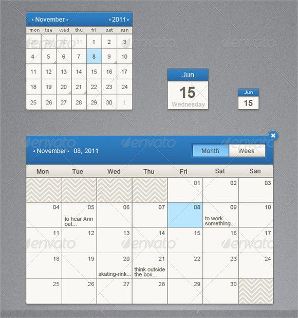 Excel Event Calendar Template