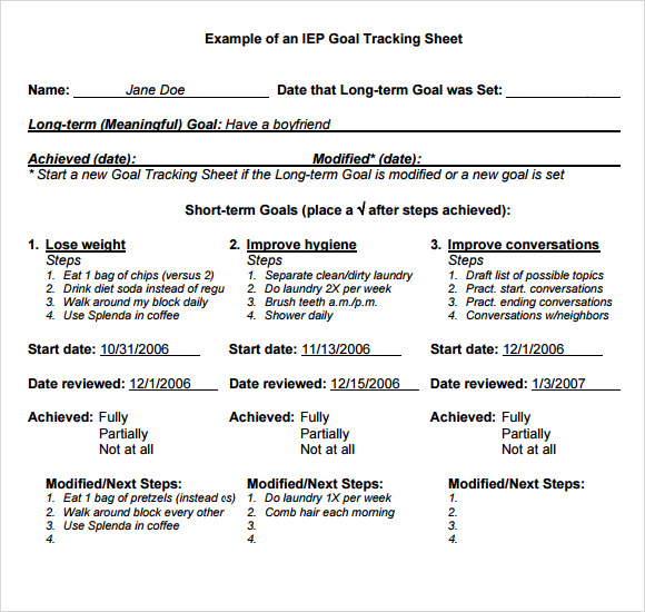 sample iep writing goals and objectives The iep must list measurable annual goals, consistent with the  the following  template may assist in the writing of annual goals: given.