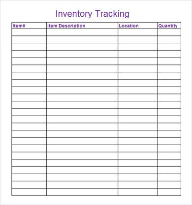 excel inventory template .