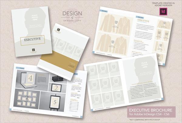 executive marketing brochure