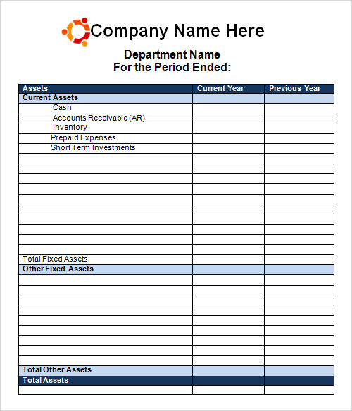 Statement Template 9 Download Free Documents in PDF Word – Financial Statements Templates