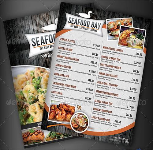 food menu template2