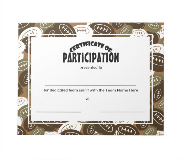 certificate of participation template ppt - participation certificate template 7 premium and free