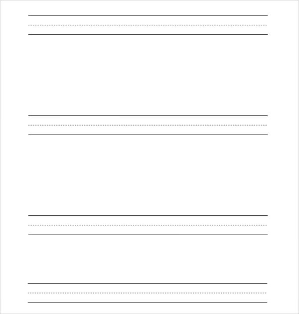 free printing paper template