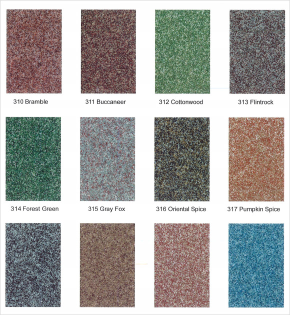 General Polymers Color Chart Template