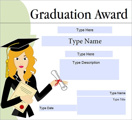 Certificate template 30 download free documents in pdf word graduation certificate yadclub Images