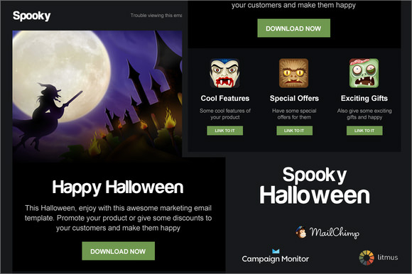 halloween responsive email template