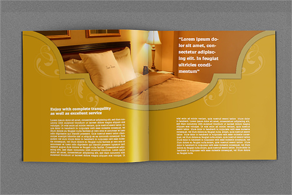 Hotel Brochure Templates  Psd Indesign