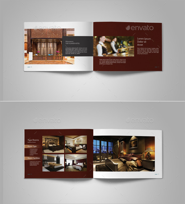 13 hotel brochure templates sample templates for Brochure design psd templates