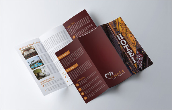 Hotel Brochure Template  Psd Indesign