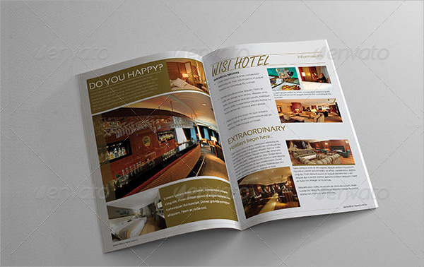 10 Hotel Brochure Templates PSD Indesign – Sample Hotel Brochure