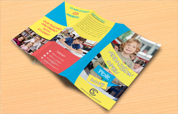school brochure template - 9 preschool brochures sample templates