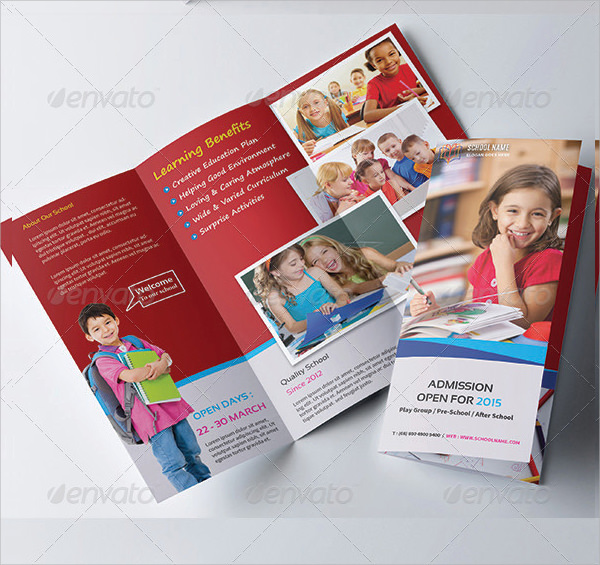 free 14  preschool brochures in illustrator