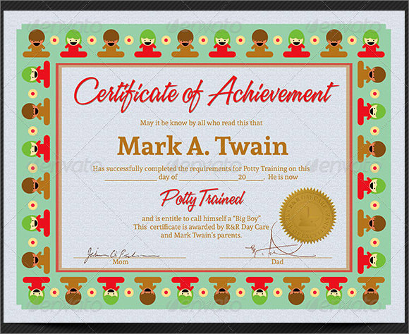 20 graduation certificates psd word kindergarten certificate templates yelopaper Image collections