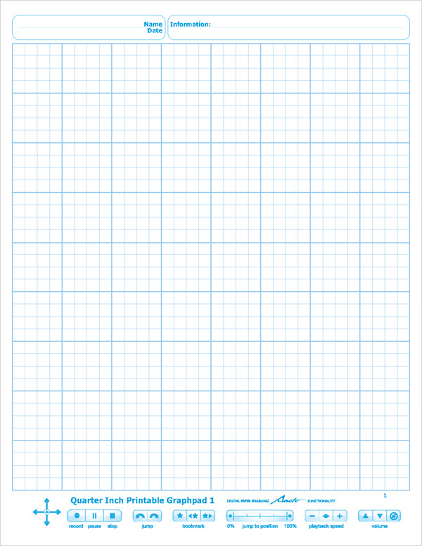 livescribe dot paper template