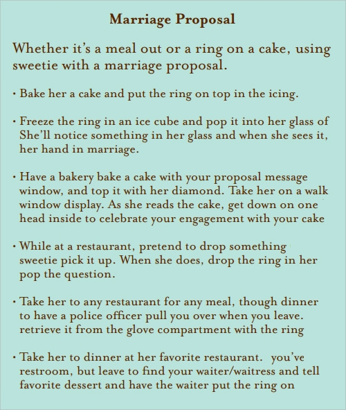 marriage proposal template