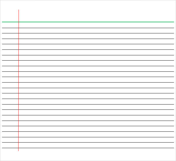 how to get rid of red vertiacal lines on word