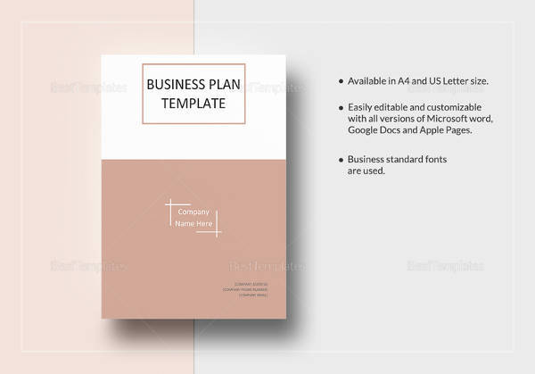 Sample small business plan 16 documents in pdf word one page business plan template fbccfo Images