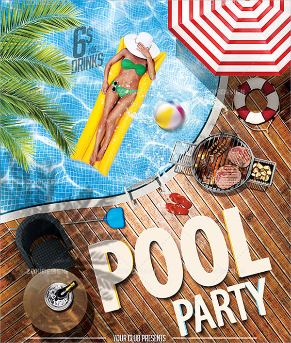 8 party flyers psd vector eps