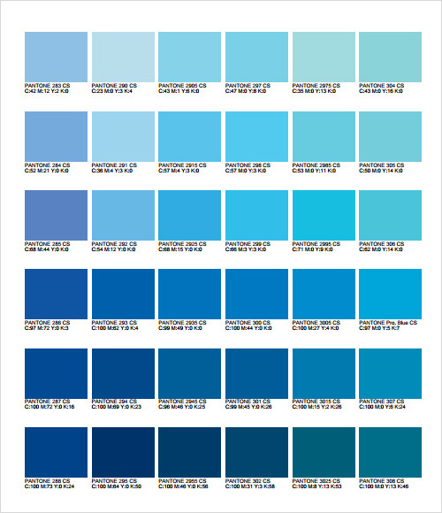 General Printing Color Chart Free Download Home Design 2017 – Sample General Color Chart