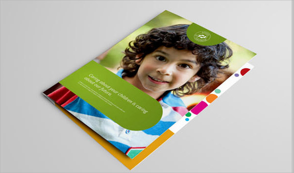 Preschool Brochures  Psd Vector Eps