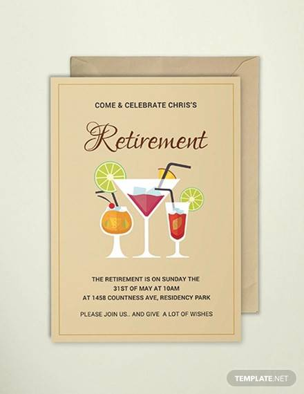 free 17  retirement party invitations in illustrator