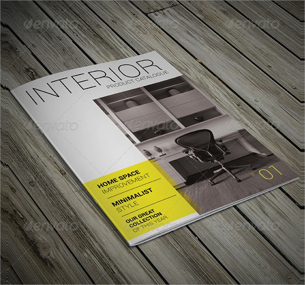 product brochure indesign template