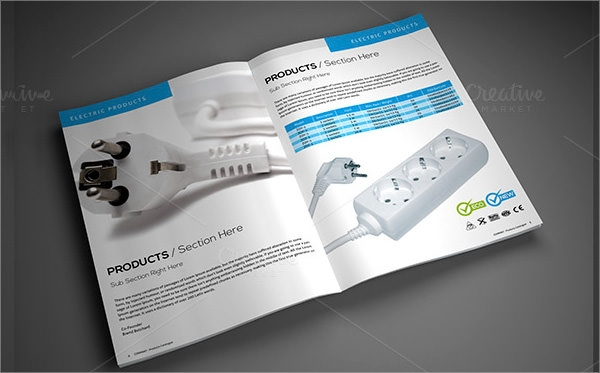 14 product brochure templates sample templates for Sample product catalogue template