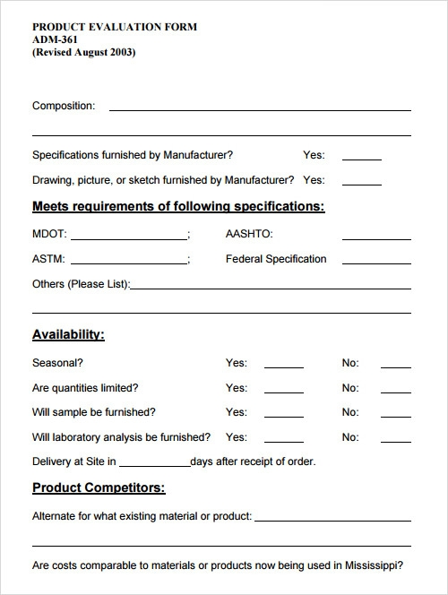 an evaluation of product in a 2012-01-22 evaluation form purpose the purpose of these evaluation forms for tegaderm™ transparent dressings is to assist your customer in the development of a tool to evaluate our dressing compared to their current or a competitive.