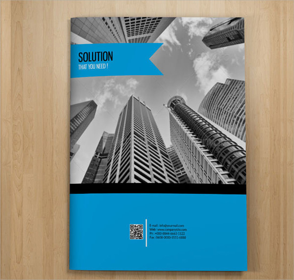 professional brochure design template