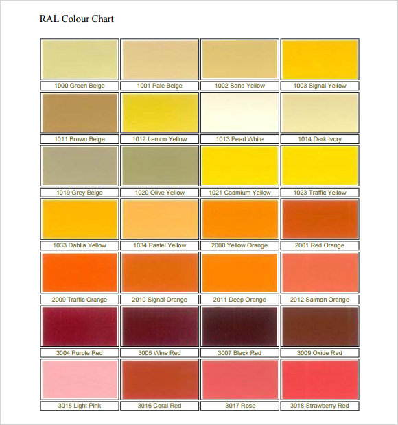 Ral Color Chart Hunter Green,Color.Printable Coloring Pages Free
