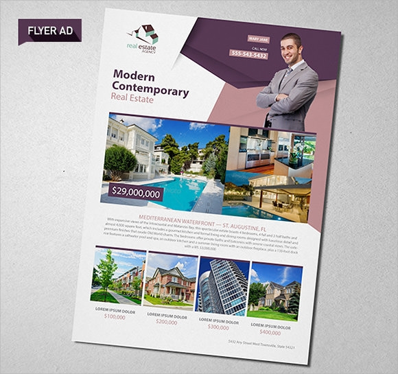 real estate brochures templates - 10 real estate brochures sample templates
