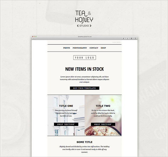 9+ Sample Html Emails - Psd