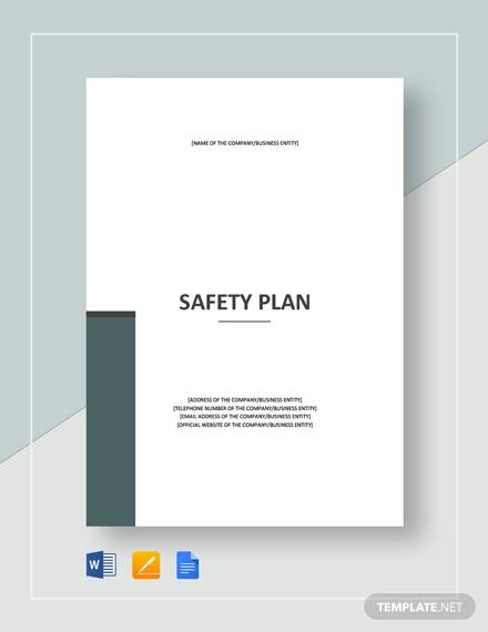 safety plan template1