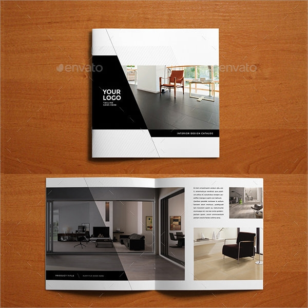 Sales Brochures PSD Vector EPS - Sales brochure template