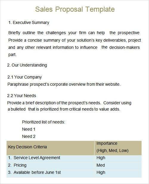 8 proposal templates to download