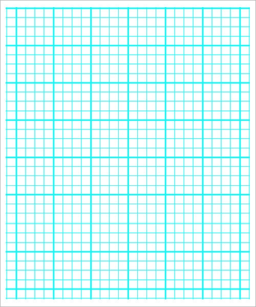 Sample Printable Graph Paper   Documents In Pdf Word  Psd