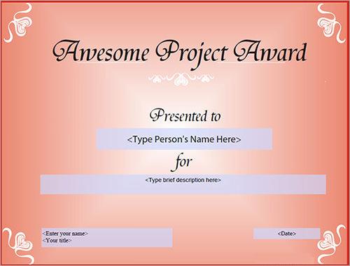 sample certificate1
