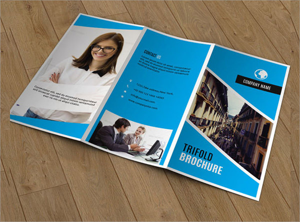 sample corporate brochures template